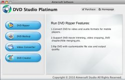 Aimersoft DVD Studio Paltinum for Mac