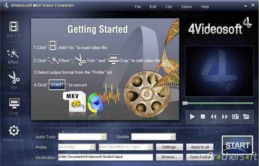 4Videosoft MKV Video Converter 5.1.18