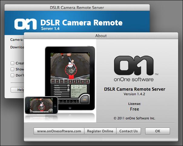 DSLR Camera Remote Server