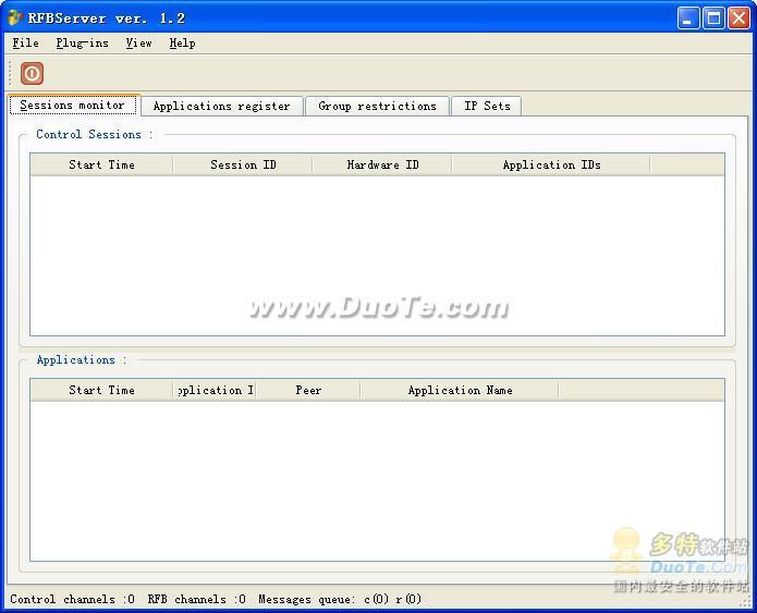 SoftDrom RFBServer