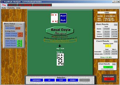 RoyalDoyle Blackjack