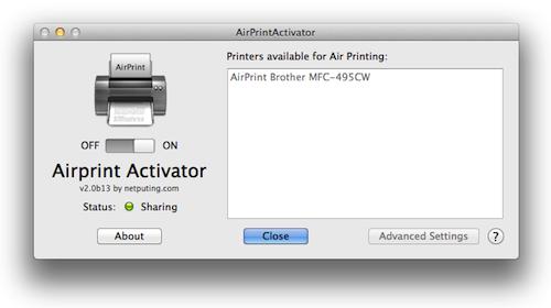 AirPrint Activator