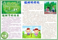 植树节保护环境倡议书范文