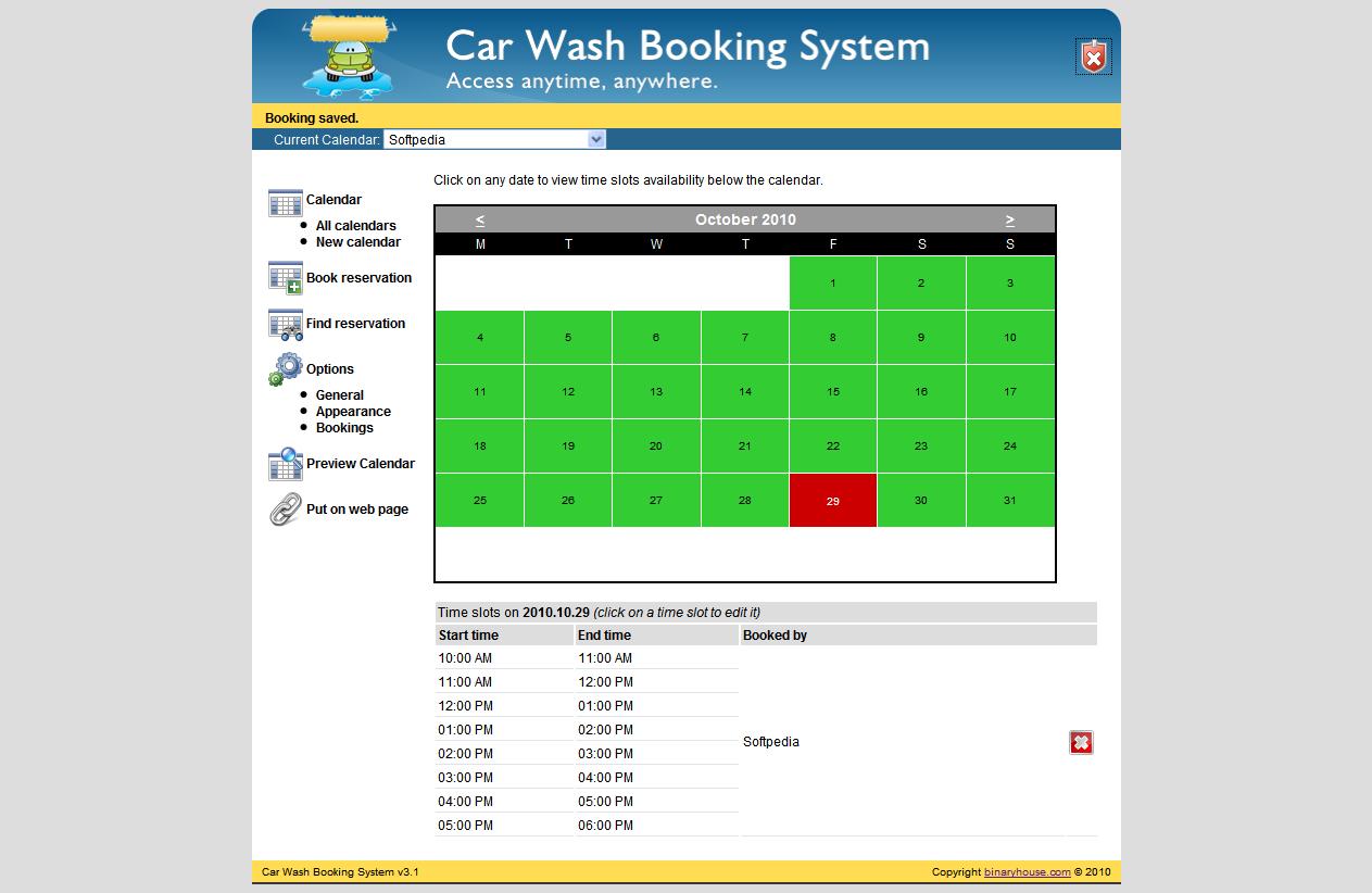 Car Wash Booking System 4.2