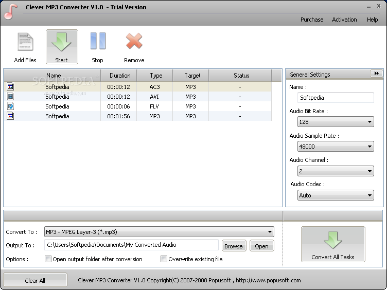 Clever MP3 Converter