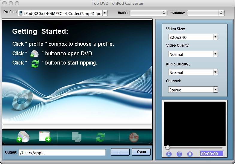 TOP DVD to iPod Converter