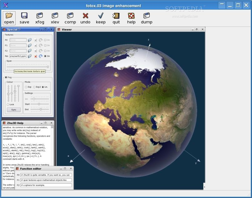 Fotoxx For Linux 15.12.1