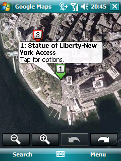 Google Map Mobile For pocketpc 3.2.1