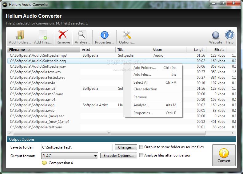 Helium Audio Converter 1.8.0.365