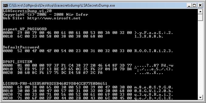 LSASecretsDump 1.21