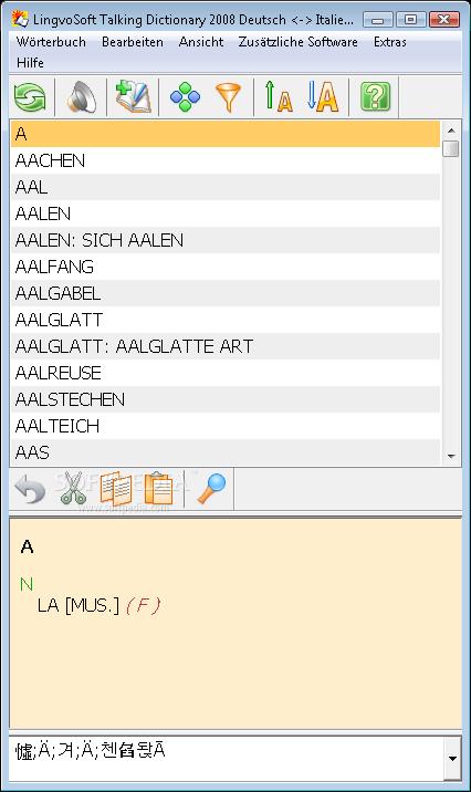 LingvoSoft Suite 2008 German - Italian