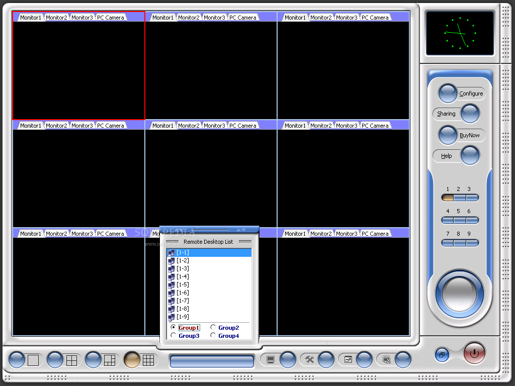 Multi-Webcam Cast