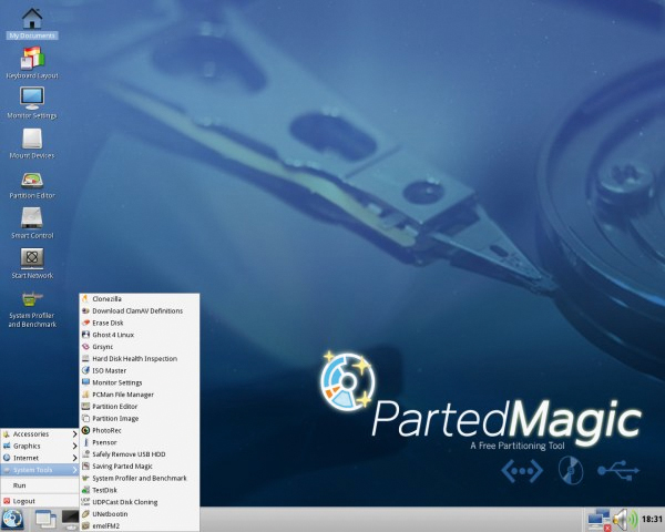 Parted Magic For Linux