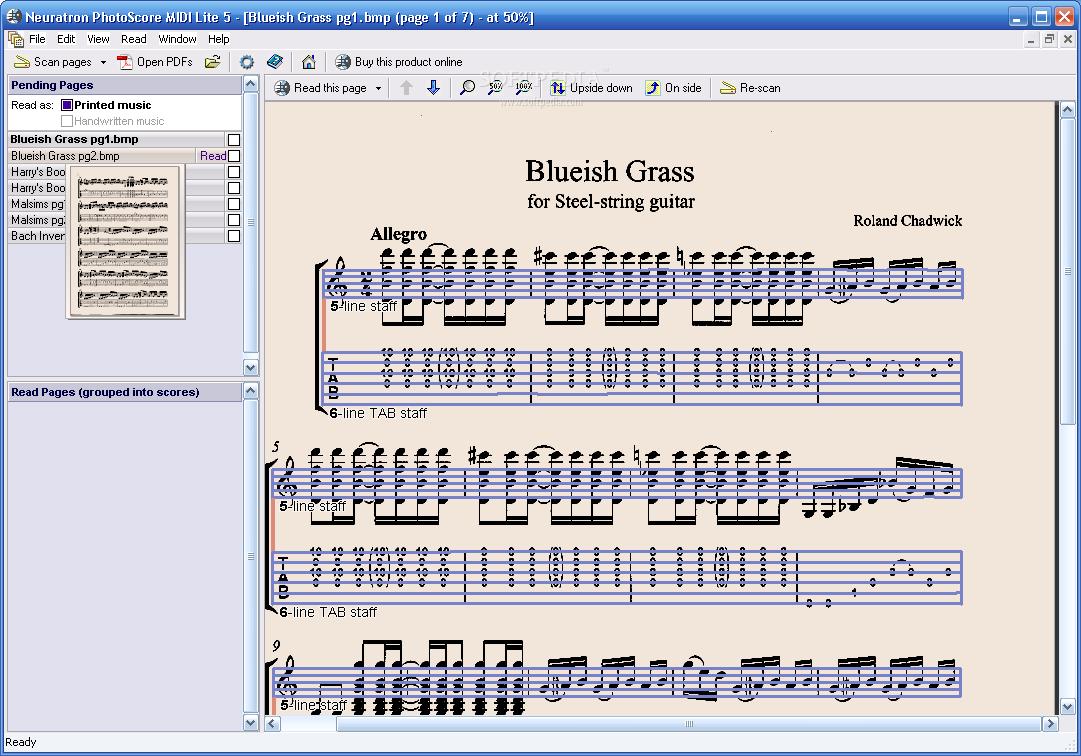 PhotoScore MIDI Lite 5.0.3