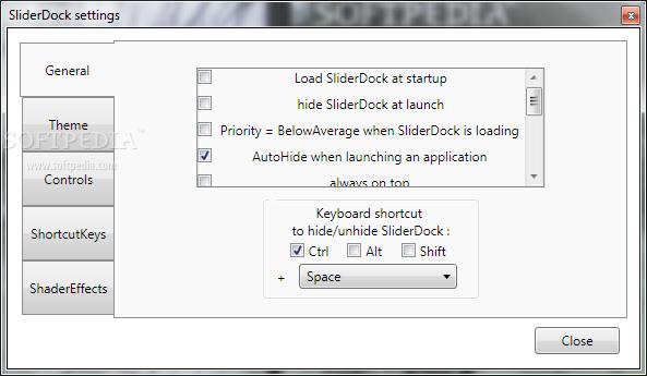 Portable SliderDock