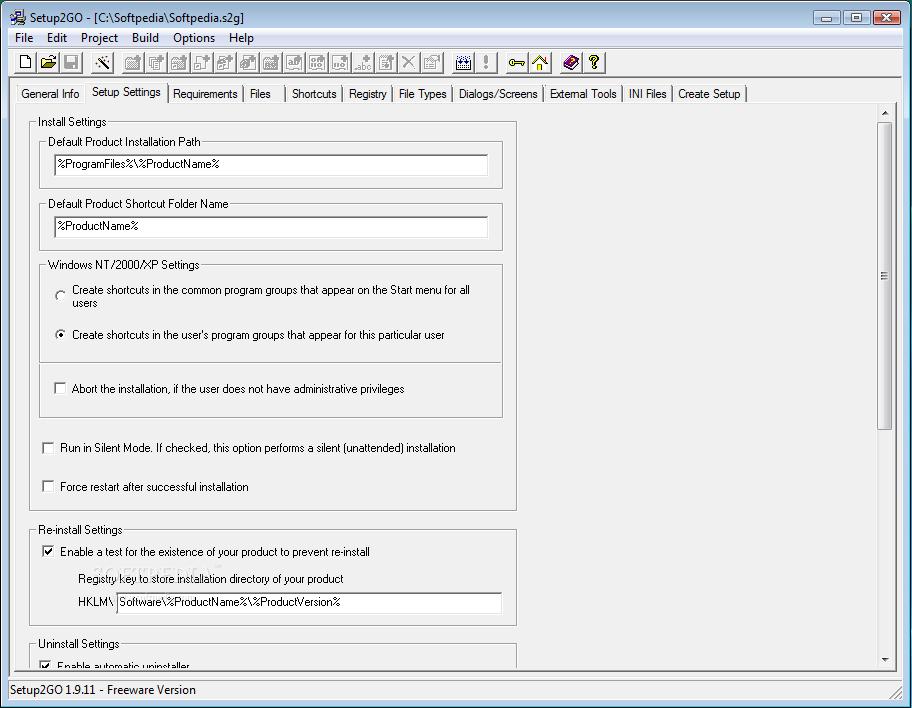 Setup2Go 1.9.11 汉化版