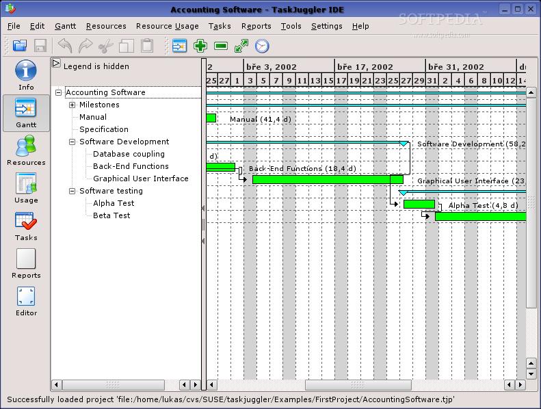 TaskJuggler For Linux
