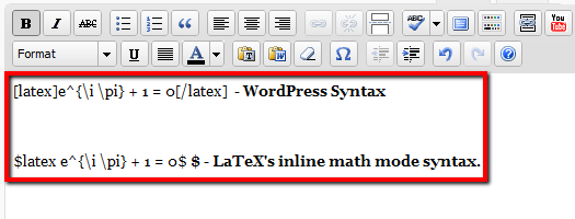 WP LaTeX