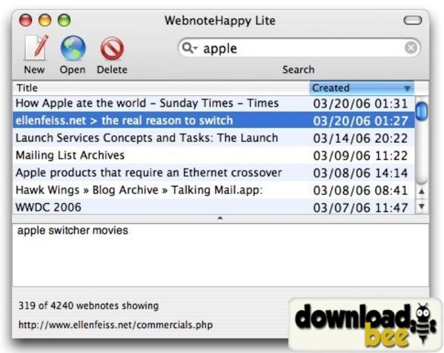 WebnoteHappy Lite