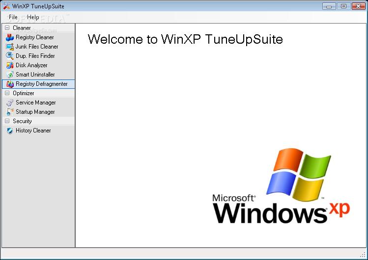 WinXP TuneUpSuite