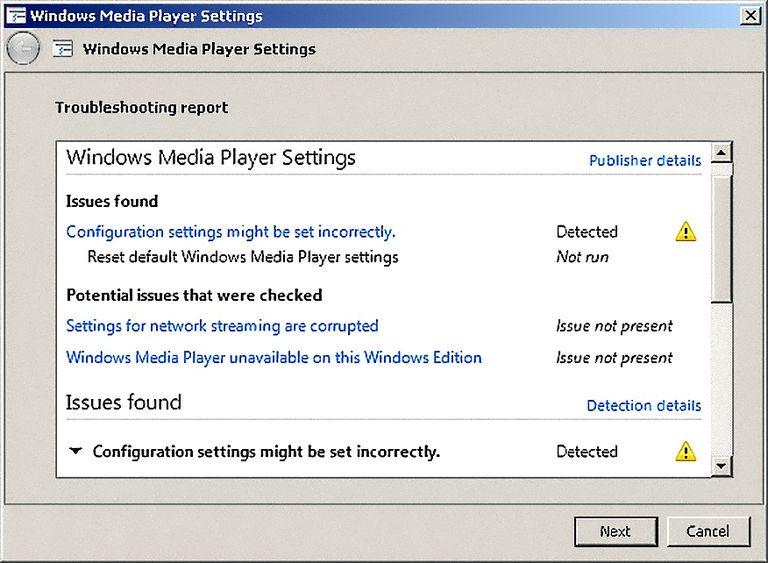 WMP Scripting Fix