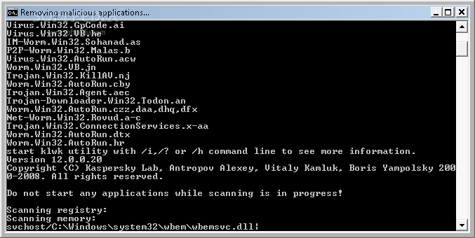 Worm.Win32.AutoRun.hr Remover