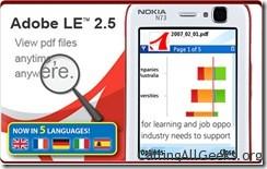 Adobe Reader LE 自签汉化版 S60 3rd 2.5.195