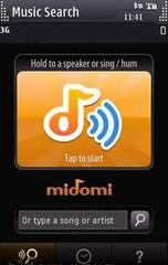 Midomi音乐识别 S60 5rd