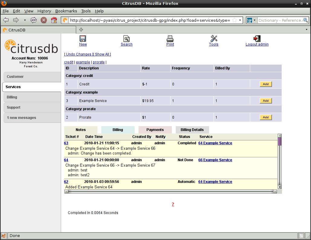 CitrusDB 2.4.2