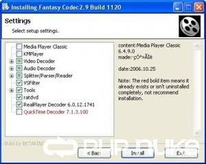 Fantasy Codec Pack
