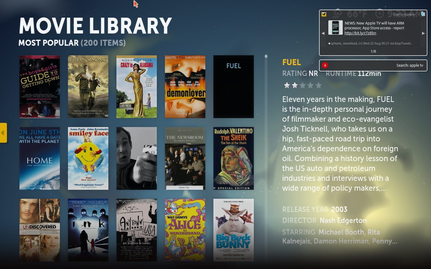 The Movie Library