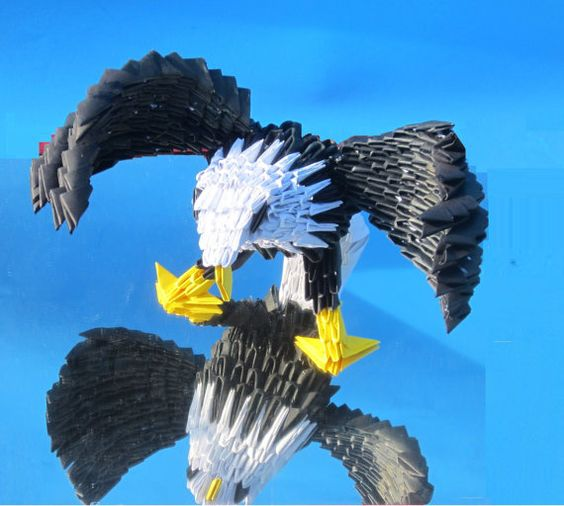 3D Majestic Eagles