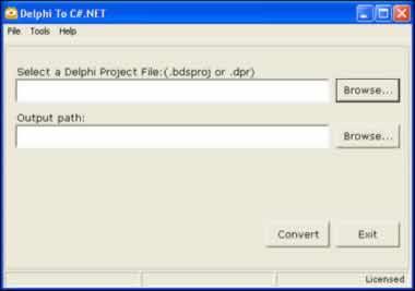 Delphi2CS 2.0