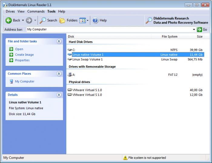 DiskInternals Linux Reader 19.3.0