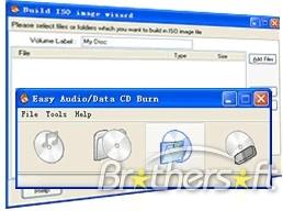 Easy Audio/Data CD/DVD Burner