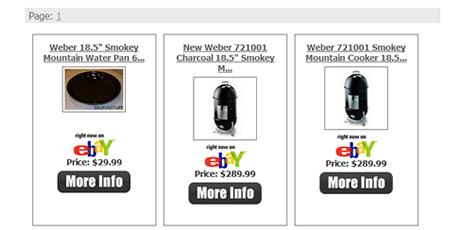 eBay Niche Site Script