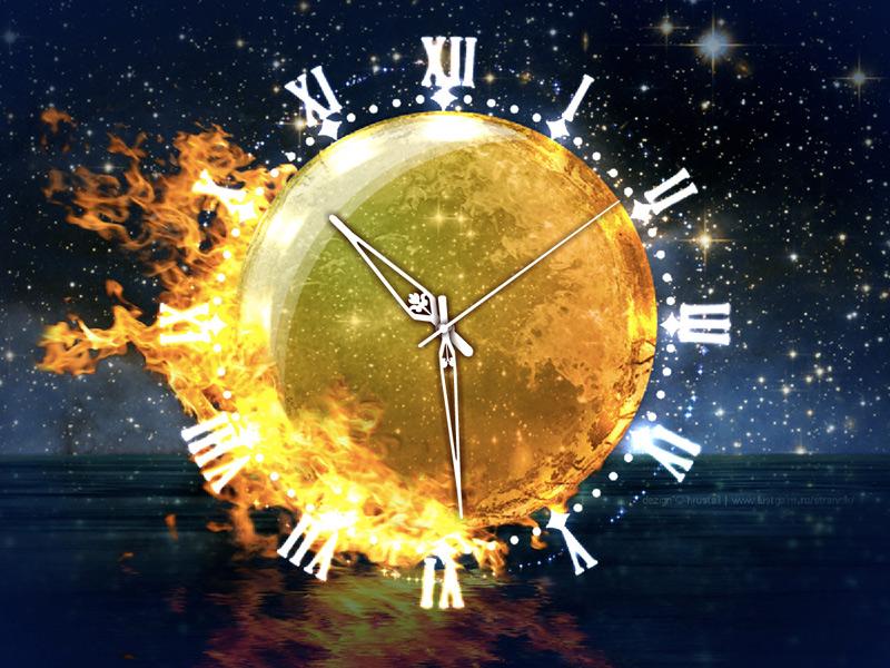 Fire Element Clock