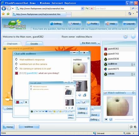 FlashPioneer Video Chat