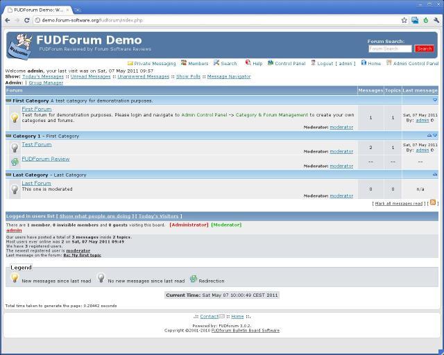 FUDforum 3.0.5