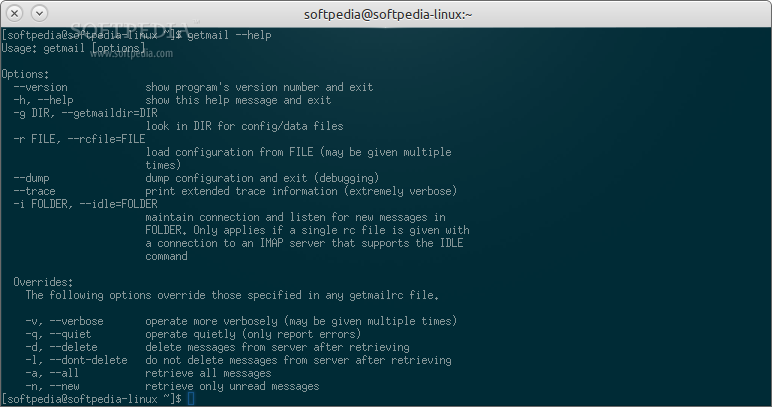Putmail For Linux