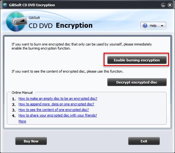 CD DVD Encryption 3.2