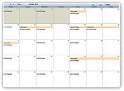 Employee Scheduler工作日程管理系统