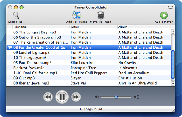 iTunes Consolid...