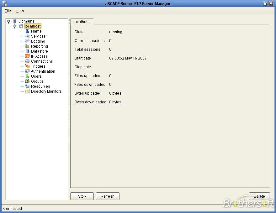 JSCAPE Secure FTP Server for Linux