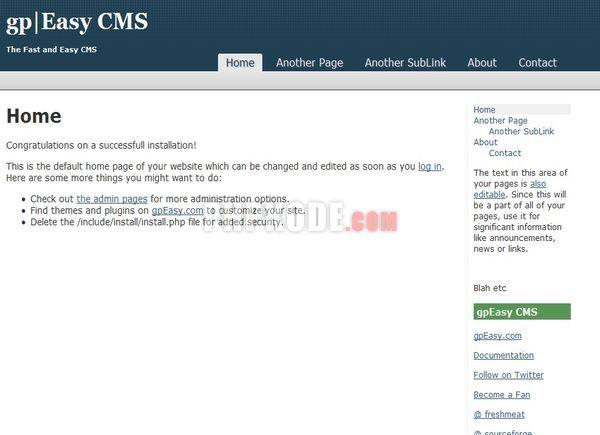 gpEasy CMS 5.0 beta1