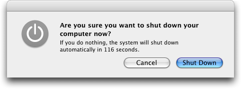 Mac Shutdown X