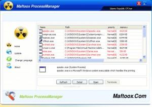 Maftoox Process Manager
