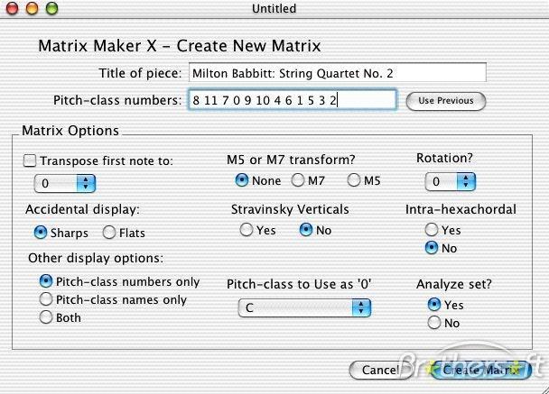 Matrix Maker X