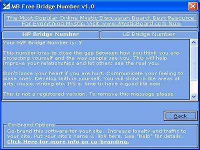 MB Free Bridge Number Software