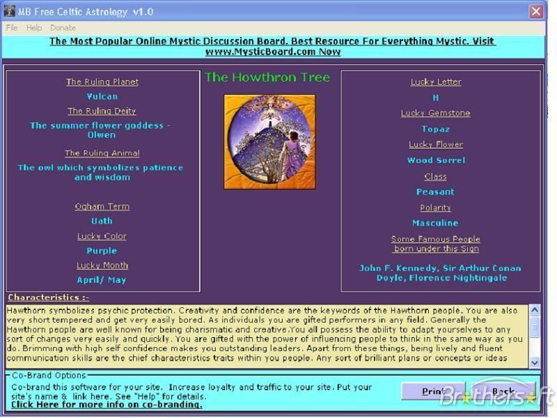 MB Celtic Astrology